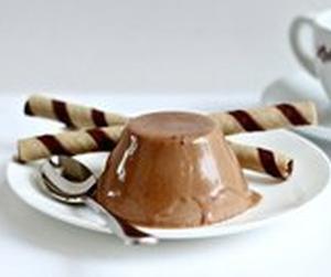 Панна Котта из кофе, кокоса и шоколада