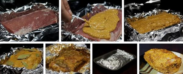 Как приготовить Свинину, запеченную с майонезом и специями