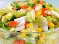"""Овощной салат """"Цветной"""""""