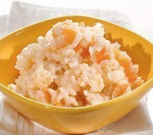 Рисовая каша с курагой