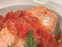 Форель в томатном соусе