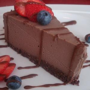 Шоколадный чизкейк сыроедение