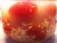 Бабушкины помидорчики с чесноком на зиму