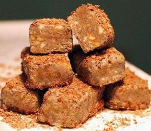 Шоколадные конфеты с орешками