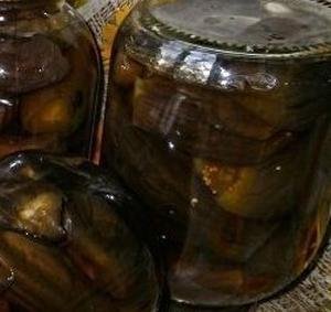 Баклажаны консервированные по-быстрому на зиму