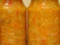Капустник в банке на зиму (салат и заправка)