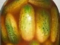 Маринованные огурцы с кетчупом на зиму