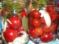 Сахарные помидоры на зиму