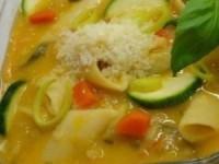 Суп минестроне с овощами