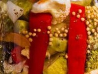 Овощное ассорти Зимний вечер на зиму