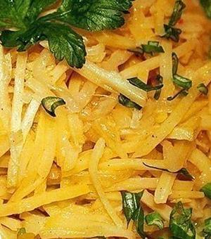 Картофель по-корейски