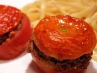 Томаты, фаршированные мясом
