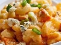Макароны с сыром и курицей
