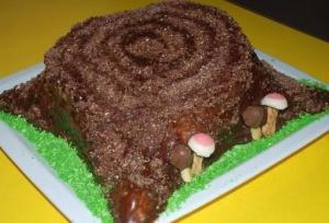"""Ореховый торт """"Пенек"""""""