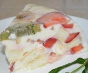 Торт Фруктовое наслаждение