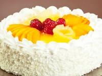 Торт-крем с фруктами