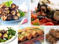 Вкуснейшие рецепты рулетиков из баклажанов
