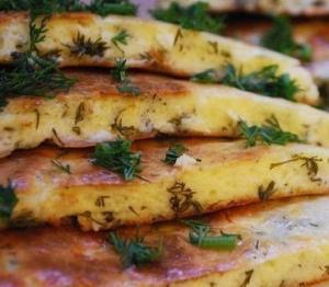 Быстрое хачапури на сковородке