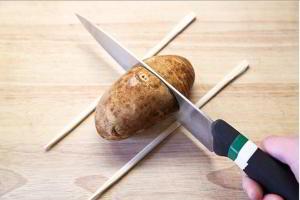 Картофель-аккордеон 2
