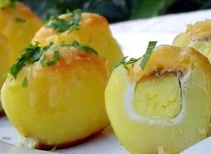 Картофель запеченный Сюрприз