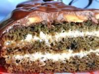 Нежный, вкусный, влажный торт «Негр в пене»