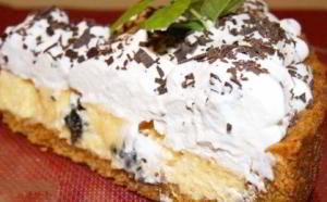 Очень простой американский торт-пирог