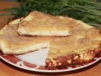 Пирог Хачапури (Пирог с брынзой или сулугуни)
