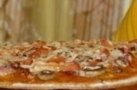 Пицца на тонкой основе
