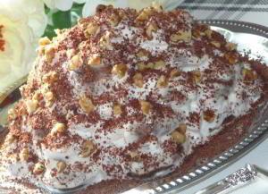 Пряничный тортик без выпечки