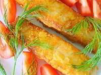 Сёмга в картофельной панировке