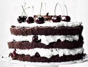 Шварцвальдский шоколадный торт Черный лес