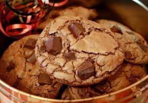 Шотландское печенье с кусочками шоколада