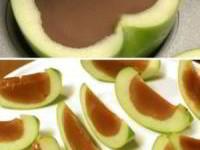 Яблоки с карамелью или шоколадом