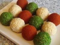 цветные сырные шарики