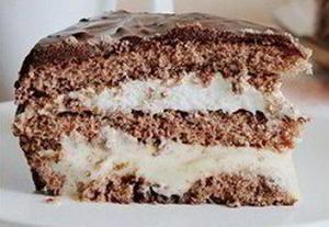 Торт «Три крема» (Tarte «Trois crèmes»)