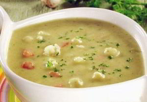 Грибной суп-пюре с картофлем