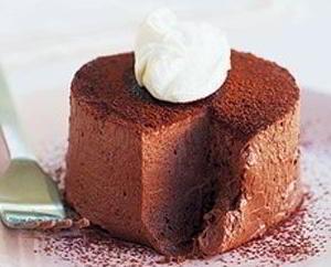 Десерт Шоколадный трюфель