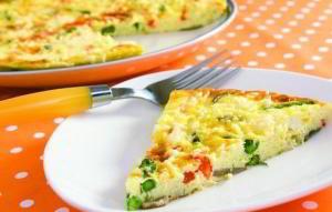 "Итальянское блюдо ""Фритата"" (пицца без теста)"