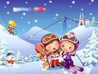 Лыжи — очень нужный и полезный вид спорта