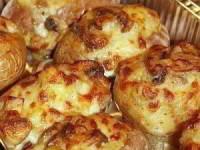 Печенный картофель с начинками