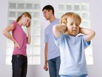 Семейные ссоры могут вызвать проблемы в развитии ребенка