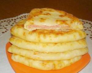Сырные лепешки за 15 минут