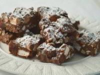 Шоколадные квадратные пирожные