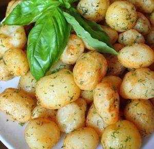 Запеченная картошкам