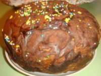Куличи пасхальные с шоколадной глазурью