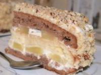 Нежный торт с сметанным кремом