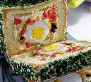 Пасхальный хлеб с секретом