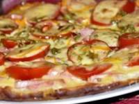 Пицца на сковороде за несколько минут