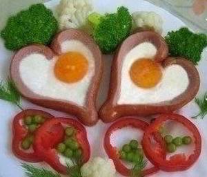 Романтический завтрак на двоих