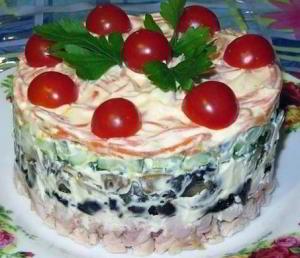 Салат Вкуснятина